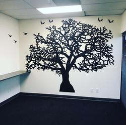 Custom panel tree.