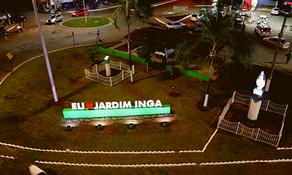 """""""Eu Amo Jardim Ingá"""", distrito ganha novo cartão postal"""
