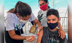 Um a cada oito luzianienses receberam a primeira dose de vacina contra covid-19