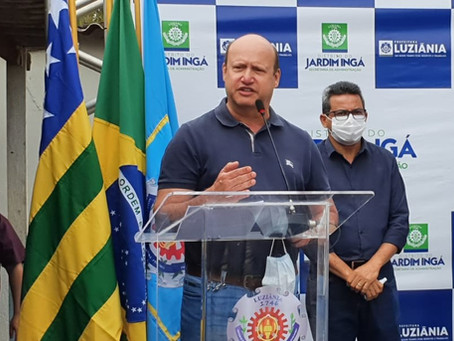 Deputado Célio Silveira destina R$ 1 milhão para obras de pavimentação asfáltica em Luziânia
