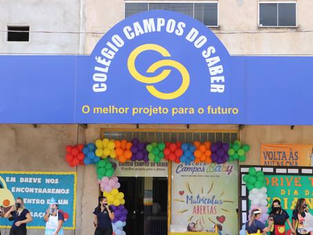 Colégio Campos do Saber realiza evento especial em homenagem ao dia das crianças