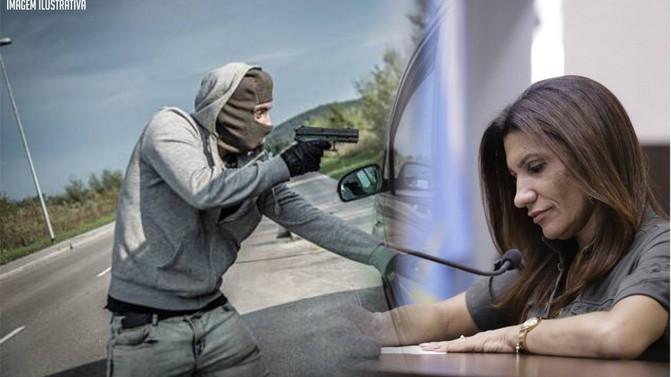 Pré-candidata Ana Lúcia é alvo de tentativa de emboscada