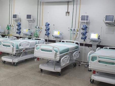 Hospital de Luziânia recebeu mais 10 leitos de UTI
