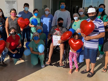 Hospital Regional de Luziânia tem maior número de recuperados desde o início da pandemia