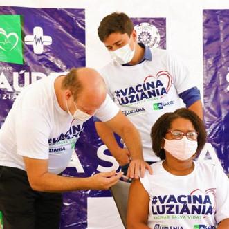 Município de Luziânia inicia vacinação contra Covid-19