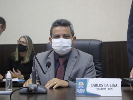 Vereadores discutem saúde do município e homenageiam mulheres