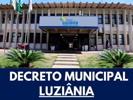 Prefeitura de Luziânia divulga decreto com restrições para conter avanço da covid-19