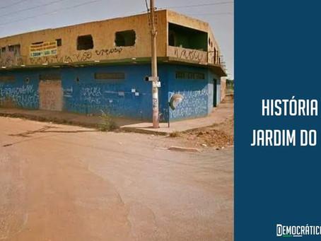 História do Jardim do Ingá: Calango Azul