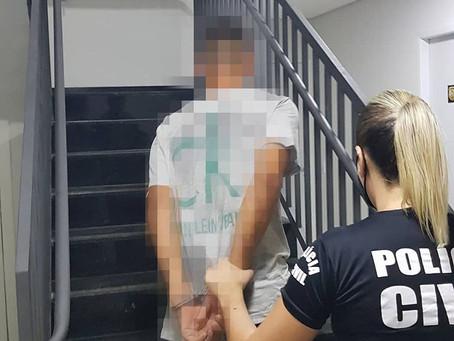 Polícia Civil prende assaltante que roubou pagamento do mês de senhora em Luziânia