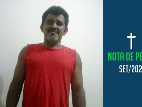 Nota de pesar: Antônio José
