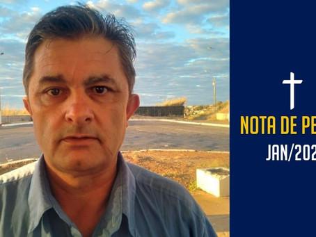 Nota de pesar: Luiz Carlos Melo