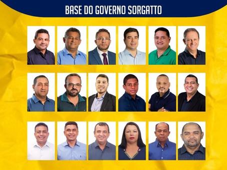 Luciano Braz, líder de governo na Câmara Municipal, anuncia a chegada de mais 6 vereadores para base