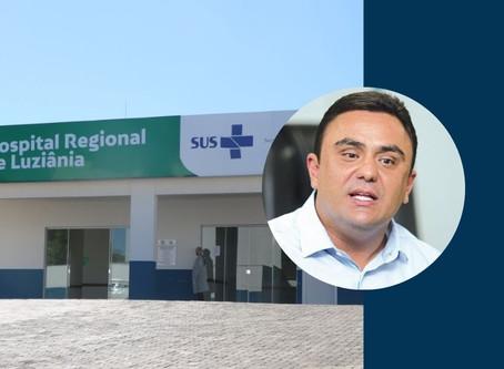 Depois de ter ficado com hospital de Luziânia fechado por 4 anos, Cristóvão critica reabertura