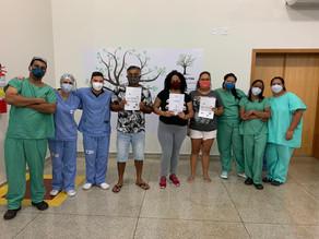 Hospital Regional de Luziânia celebra 30 altas em apenas 4 dias