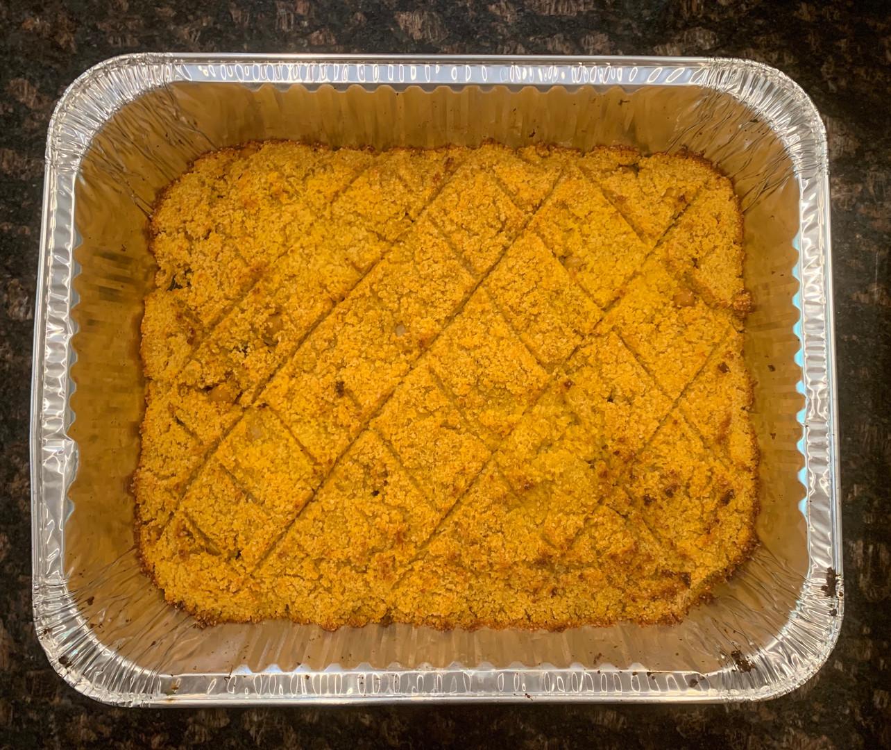 Butternut Squash Kibbeh Family Platter Tray