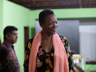 Embaixadora de Barbados debate em Porto Velho sobre temas ligados à presença afro-antilhana