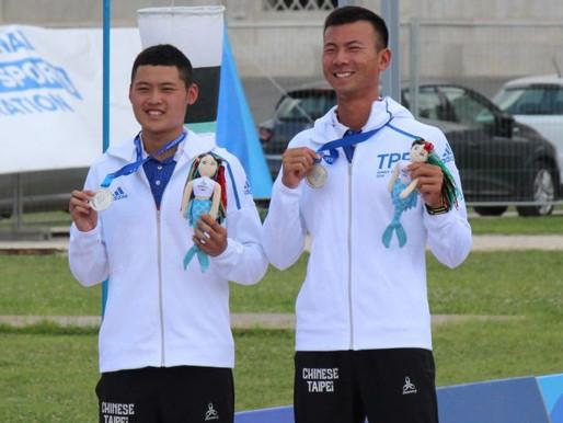拿坡里世大運》射箭反曲弓男團賽 中華輸俄羅斯得銀