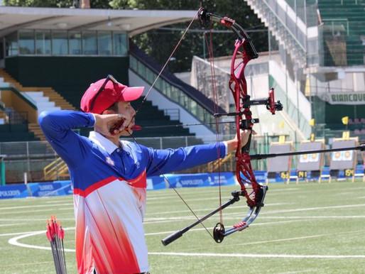 拿坡里世大運》射箭複合弓 中華女團四強加射惜敗給韓國無緣爭金