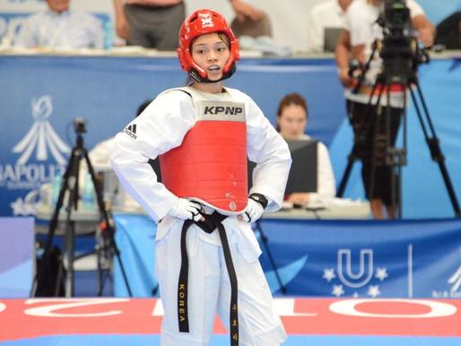 拿坡里世大運》蘇柏亞力壓何敏娜 勇奪跆拳道首面金牌