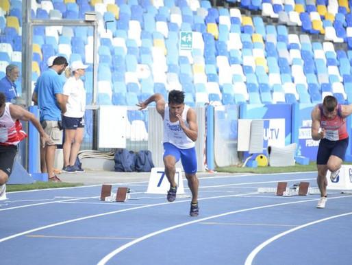 拿坡里世大運》200公尺準決賽 魏泰陞後段急起直追仍無緣決賽
