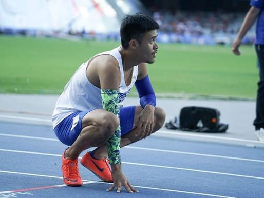 拿坡里世大運》110公尺跨欄決賽跑第六 楊尉廷:可以更好!