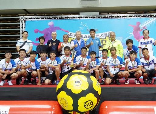 亞洲大學盃巧固球錦標賽 中華隊獲雙料冠軍