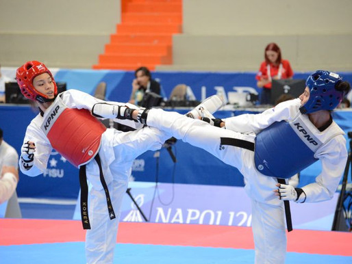 拿坡里世大運》跆拳道女子53公斤級 蘇柏亞不負眾望進四強