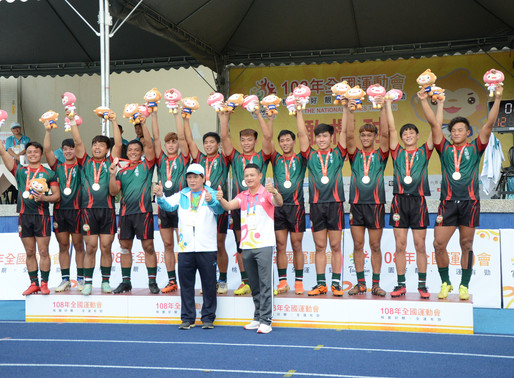 橄欖球亞巡小將周新翔首次參加全運會   「後天努力遠勝過天賦!」
