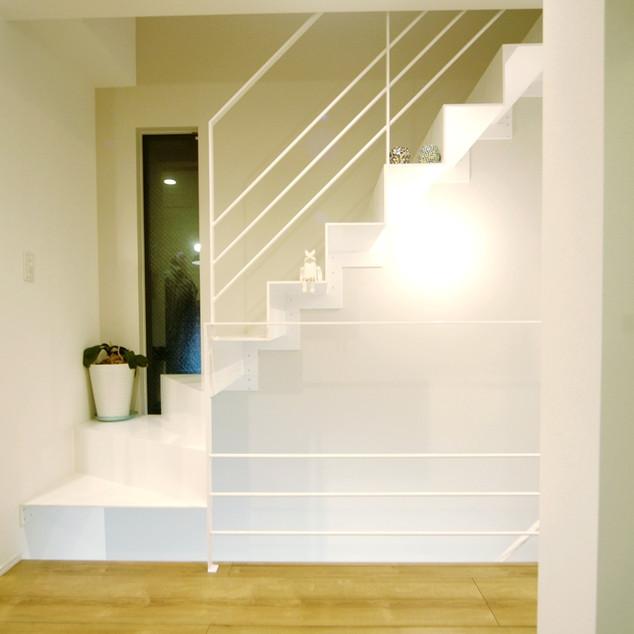 折り紙階段