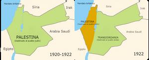 Palestina durante el mandato británico