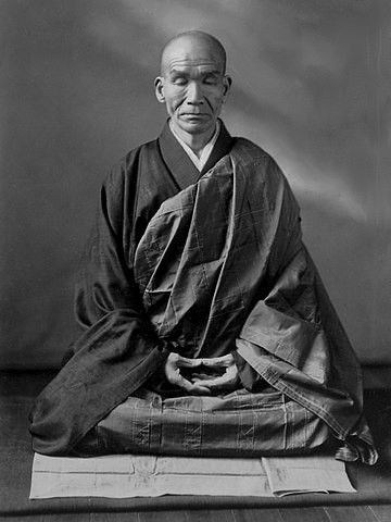 monje budista zen