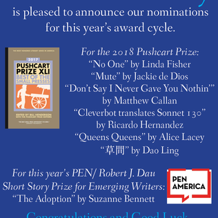 And the nominees are . . .