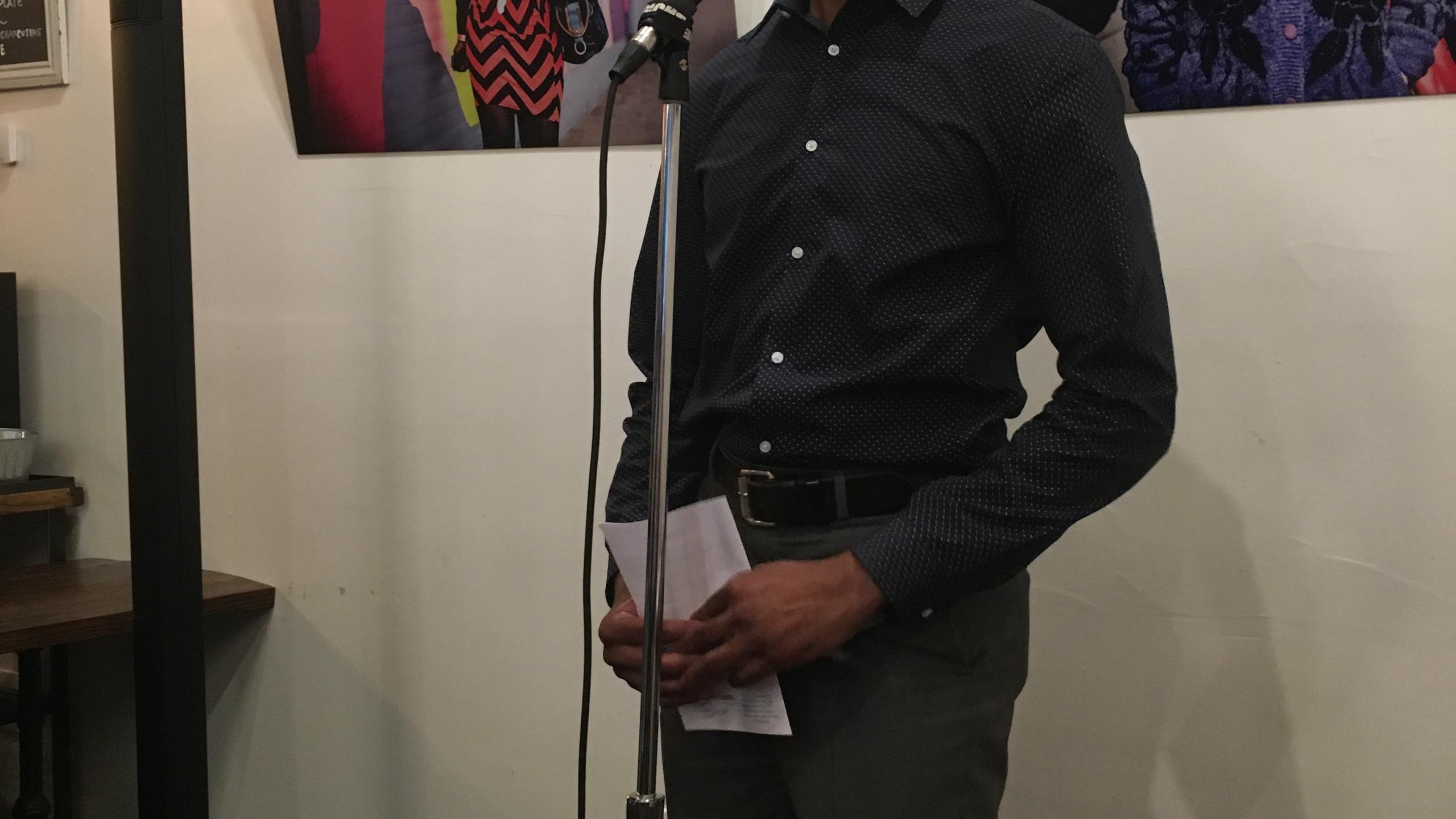 Emcee Joe Okonkwo