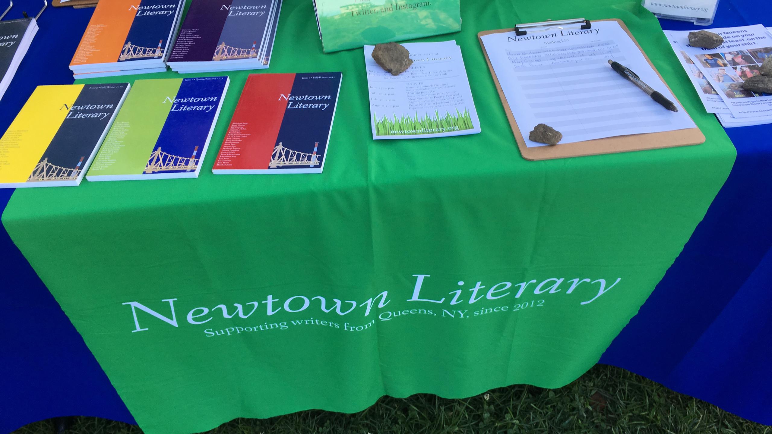 Newtown Literary Issue 10 Launch