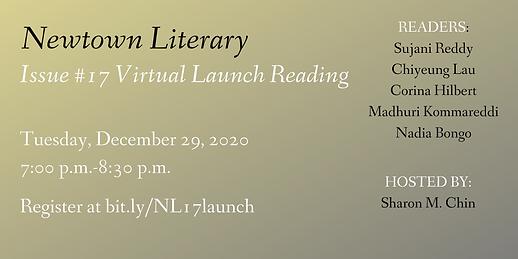 EB Newtown Literary Issue 17 Virtual Lau