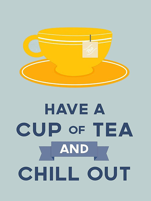 Have A Cup of Tea, Retro Metal Sign / Fridge Magnet Pub Bar Man Cave