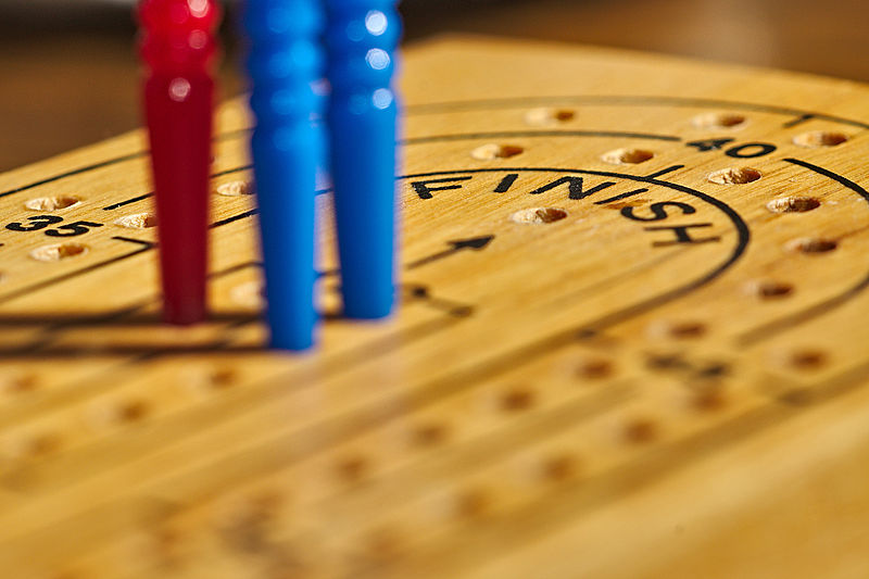 Cribbage - we are playing!
