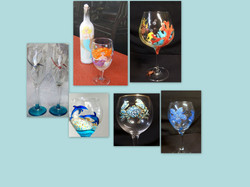 Judi Revercomb - wine glasses