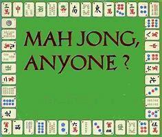 Mah Jongg Tournament