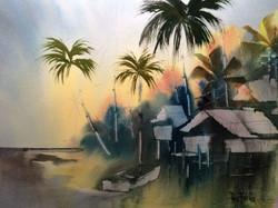 Roy Fuller Watercolor