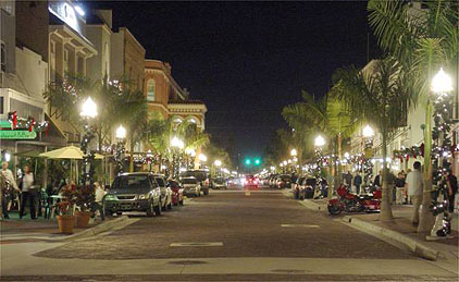 Night-time Fort Myers