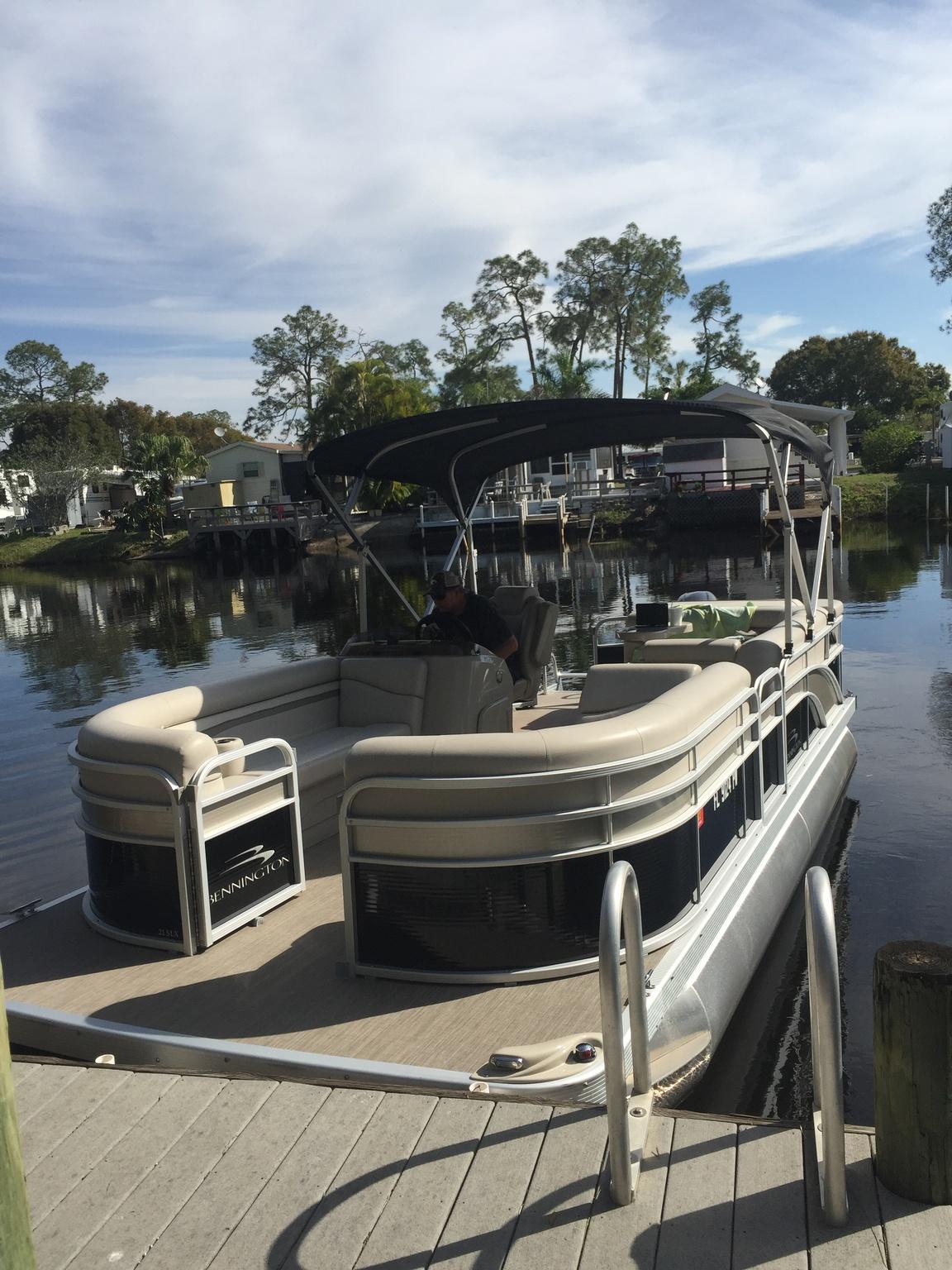 Guests may board at the FV dock