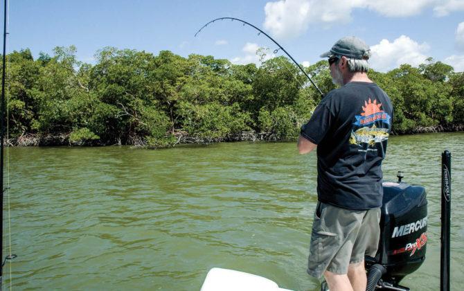 Backwater fishing anytime