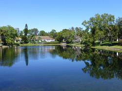 West Pond facing North