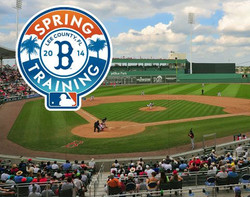 Spring Training - Twins & Red Sox