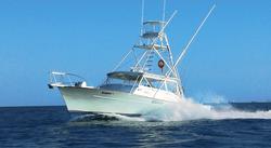 Deep sea fishing departs nearby