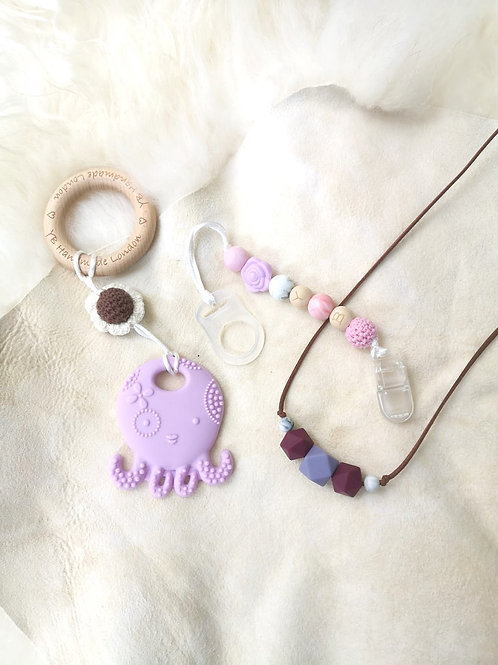The Lilac Octopus Set