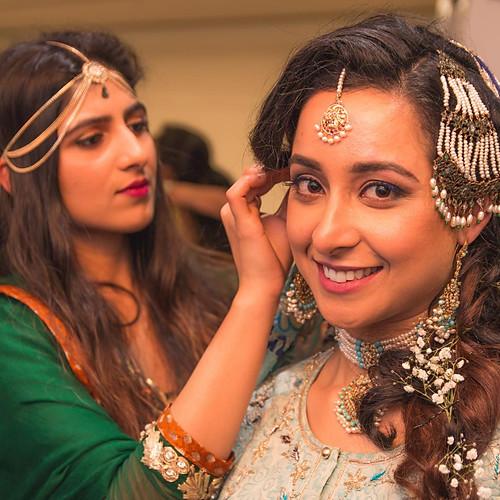 Yumna and Habib's Mehndi