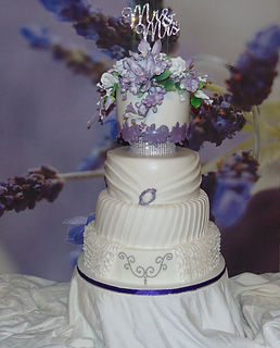 Custom-made Wedding Cake