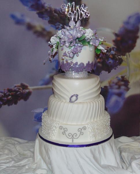 Designer Wedding Cake - My Darling